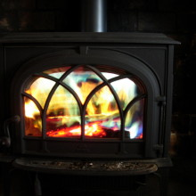 Looking forward to heating the home next winter with a wood stove? Make sure you have a good source of dry logs first…