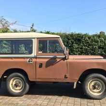 Messing about in rural Devon with an old Land Rover called Bertie…..